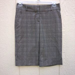 Bebe trouser shorts size 4